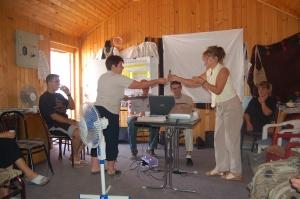 formazione AMA per donne a Gorazdevac